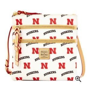 🆕 Nebraska Cornhuskers Dooney & Bourke Purse NWT